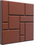 Плитка тротуарная полимерно-песчаная коричневый